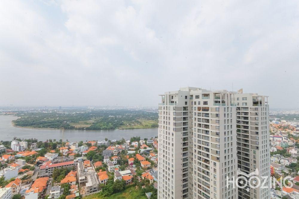 Cho Thuê Office-tel 2 PN Masteri Thao Dien - View Sông Siêu Đẹp
