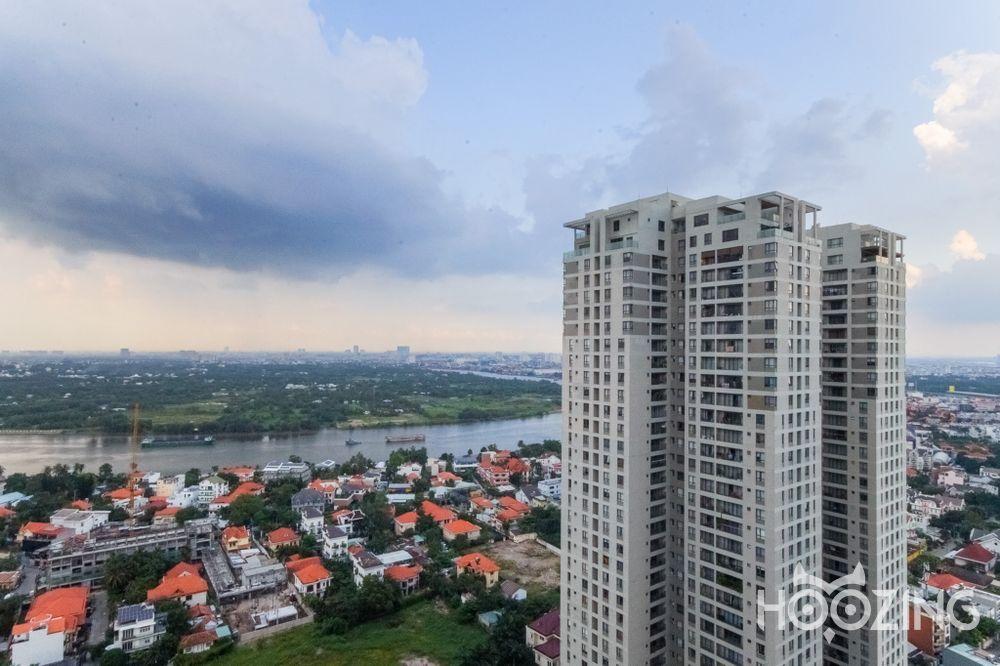 Cho Thuê Office-tel 3 PN Masteri Thao Dien - Tầng Cao View Thoáng