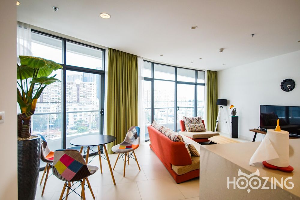 City Garden Apartment 2 Bedrooms - Fully Furnished & Dazzling