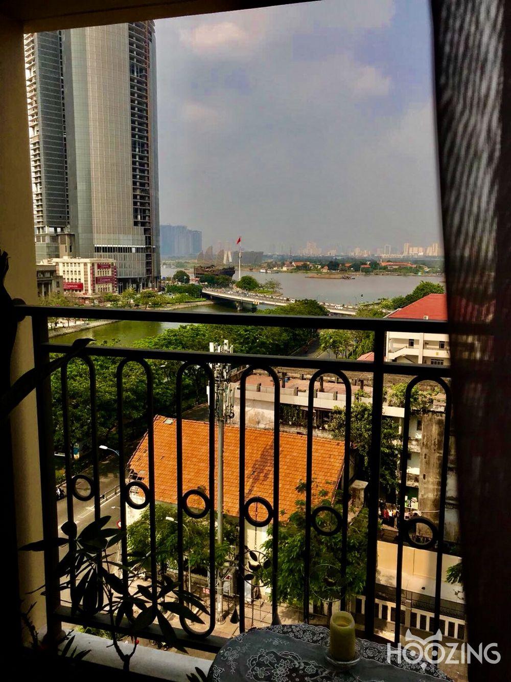 Cho Thuê Office-tel 1 PN Saigon Royal Residence - Nội Thất Á Đông