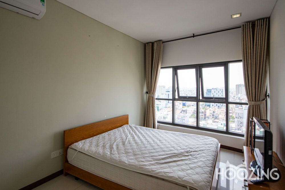 City Garden Apartment 2 Bedrooms - Fully Furnished & Generously-Sized