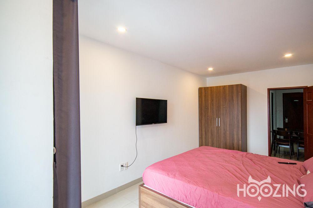 Cho Thuê Căn hộ 1 PN Thành Thái Apartment - Phòng Ngủ Đón Nắng